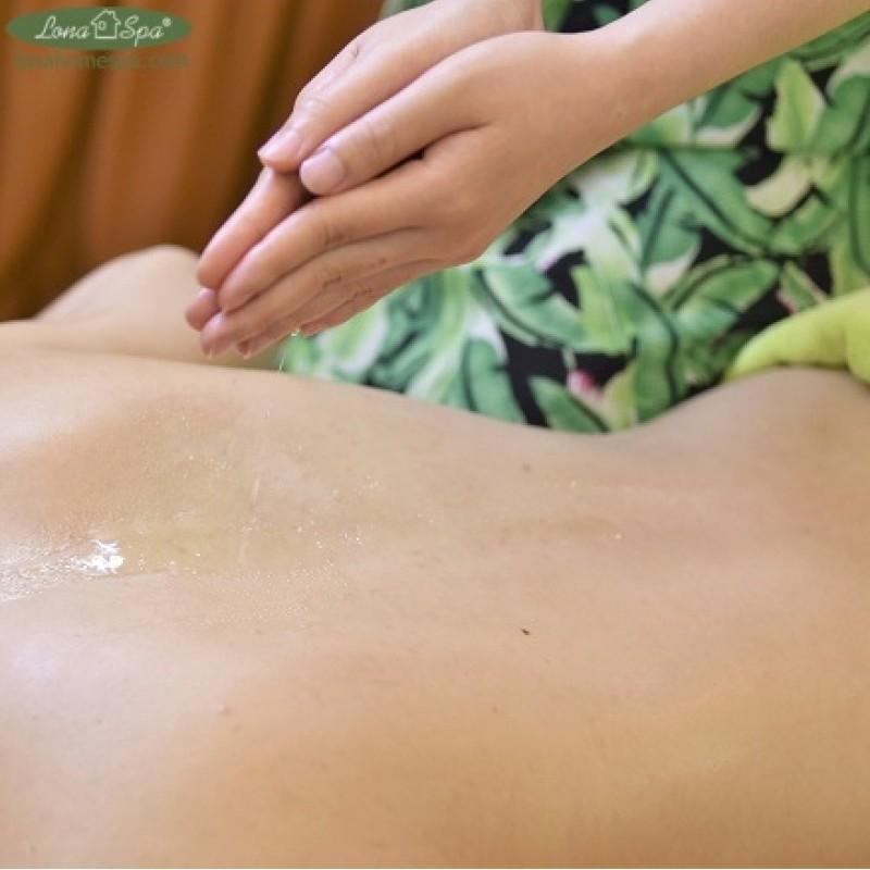 Spa thư giãn Cần Thơ   Massage thư giãn tinh chất sả chanh